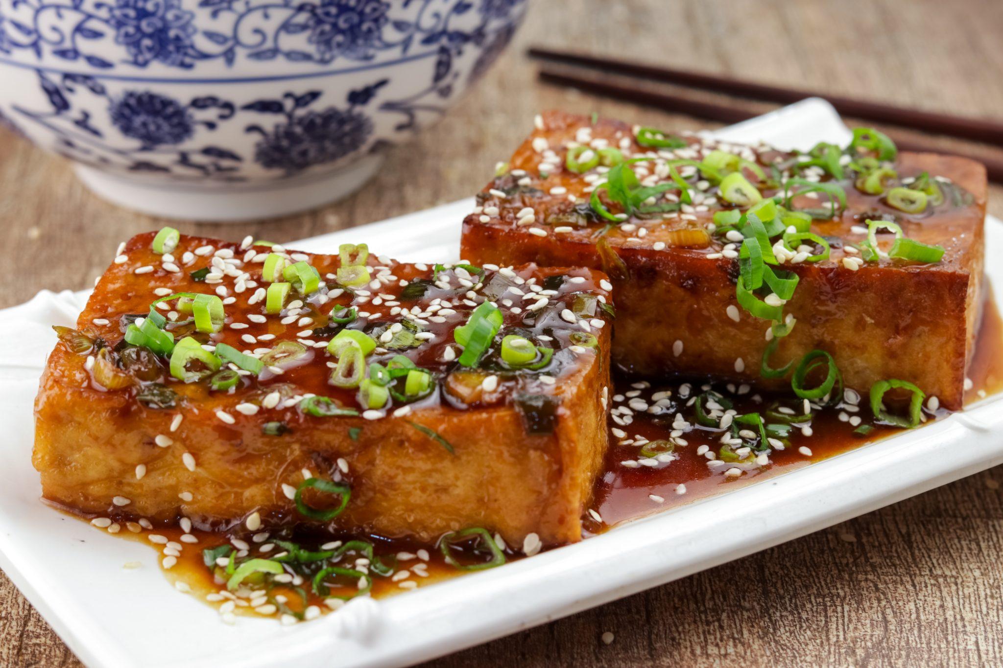 keto recipes: Teriyaki Tofu Steaks