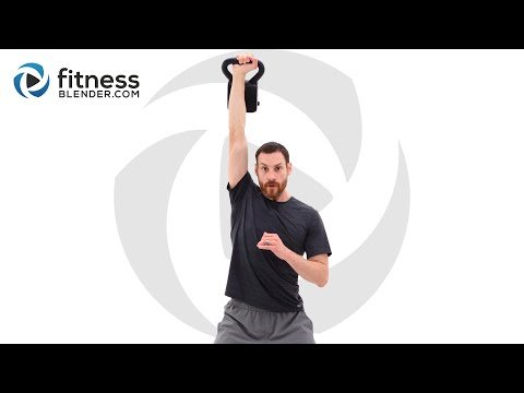 Quick Sweat Kettlebell and Jump Rope Workout – Strength and Cardio Workout