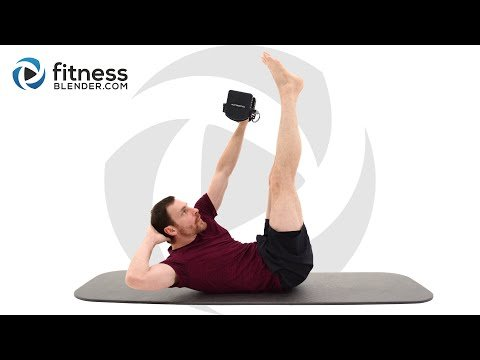 Intense 10 Minute Abdominal Strength Workout – At Home Functional Core Strength